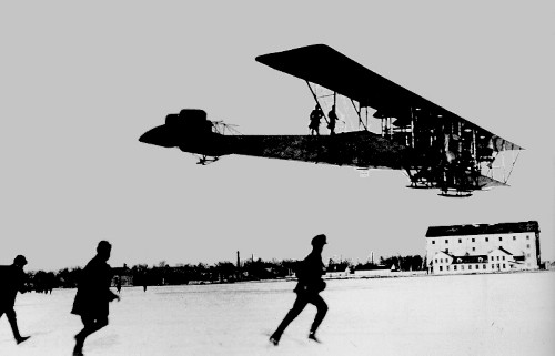 Igor Sikorsky airplane with co-operation of DEKA.